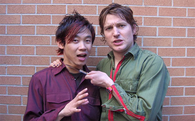 James Wan y Leigh Whannell... ¿funcionará igual si cortas una de las cabezas?