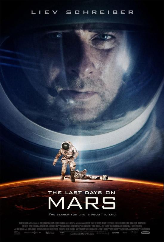 Primer cartel oficial de The Last Days on Mars