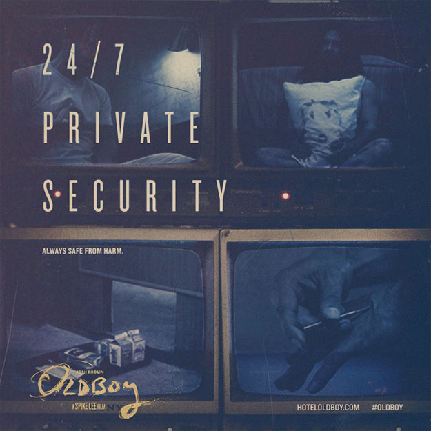 24 horas al día y 7 días a la semana de seguridad privada