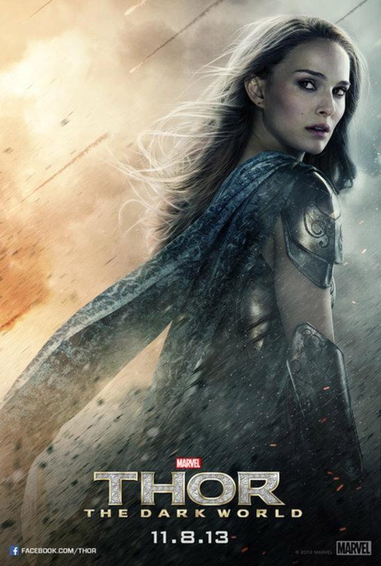 Uno de los carteles de Thor: el mundo oscuro... no mola