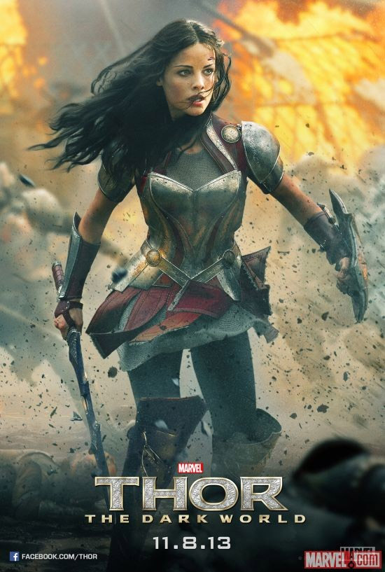Uno de los carteles de Thor: el mundo oscuro... mola