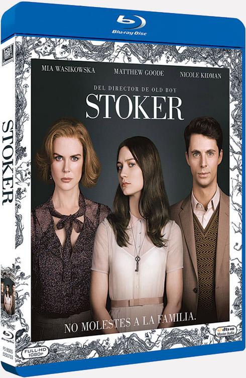 Carátula de la edición en Blu-Ray de Stoker de Chan-Wook Park