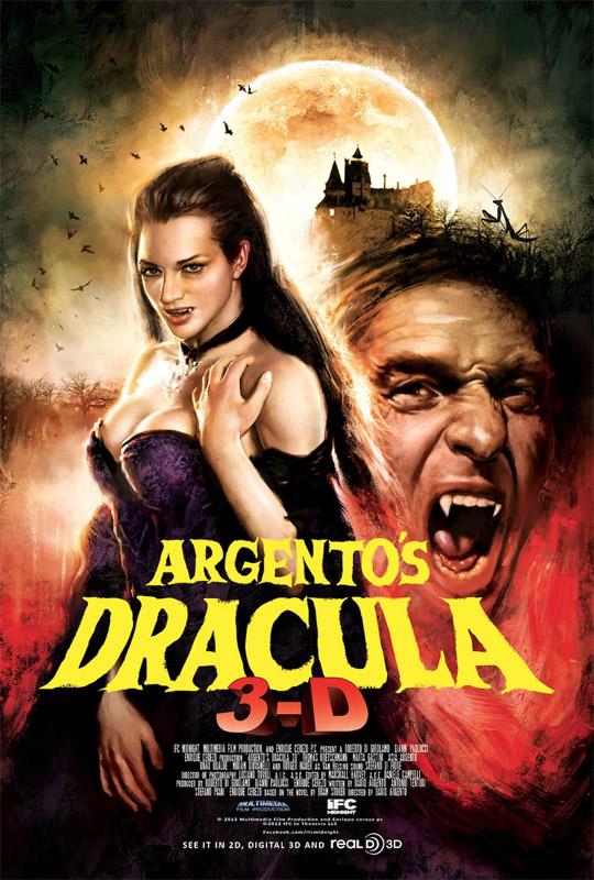 No mola ni nada este cartel de Drácula 3D de Darío Argento