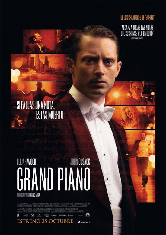 Nuevo cartel de Grand Piano de Eugenio Mira con Elijah Wood y John Cusack