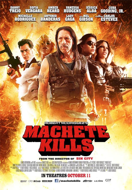 Un nuevo cartel de Machete Kills