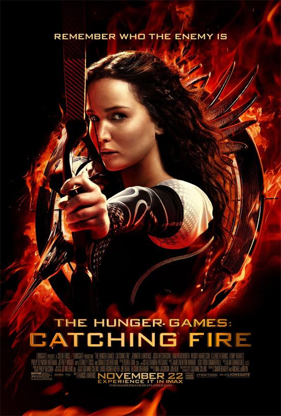 El nuevo cartel de Los Juegos del Hambre: en llamas