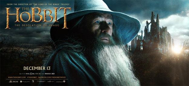 Un nuevo banner de El Hobbit: La Desolación de Smaug dedicado a Gandalf