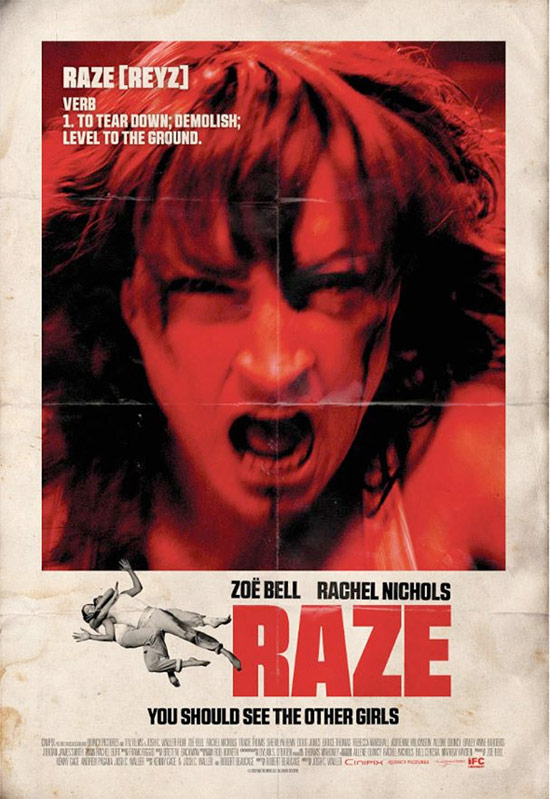 Zoë Bell vs. Rachel Nichols en el violento film Raze que también estará en Sitges 2013