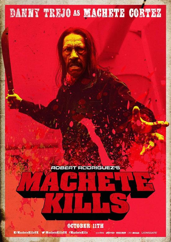 Otro cartel más de Machete Kills, vista también en Sitges 2013