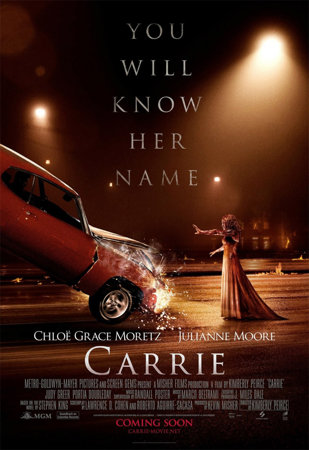 Otro póster más de Carrie... ¿póster SPOILER?