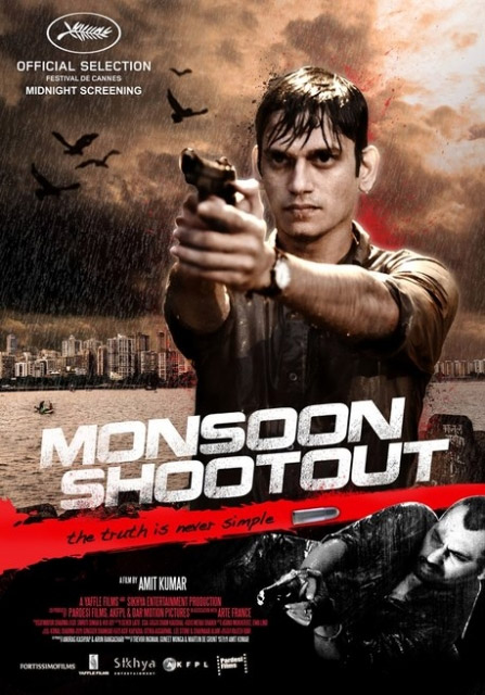 Cartel de la peli india Monsoon Shootout