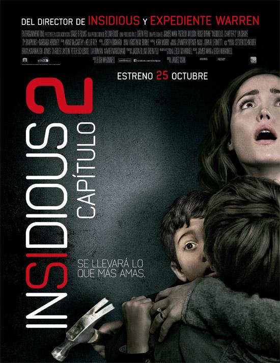 El cartel español de Insidious: Capítulo 2