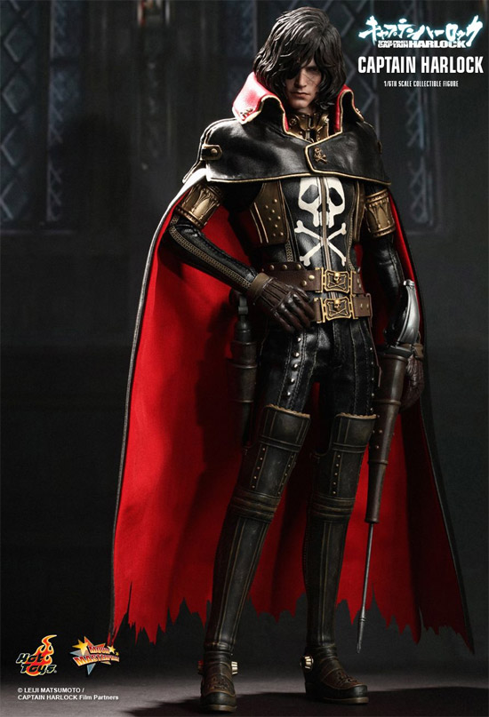 Captain Harlock de Space Pirate Captain Harlock, el film de Toei Animation