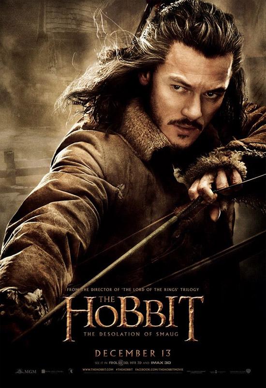 Un cartel de El Hobbit: La Desolación de Smaug