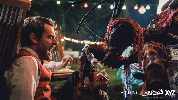 Primera imagen de la producción Stung de Benni Diez