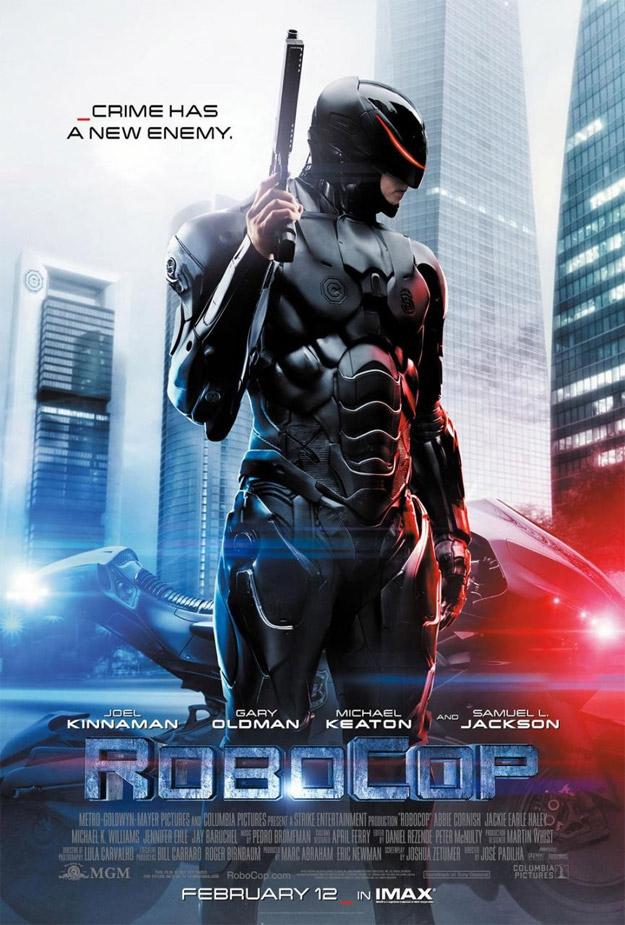 Uno de los carteles de RoboCop