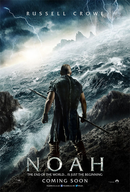 El primer cartel de Noah, y mañana el trailer!