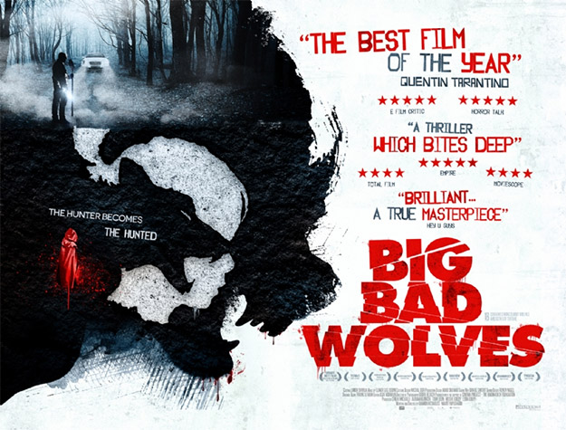 Un nuevo cartel de Big Bad Wolves... obra maestra ya