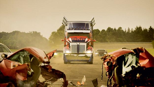Una nueva imagen de Transformers: la era de la extinción
