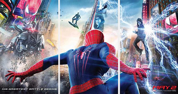 Ahora si, un vistazo en HD a los nuevos villanos de The Amazing Spider-Man