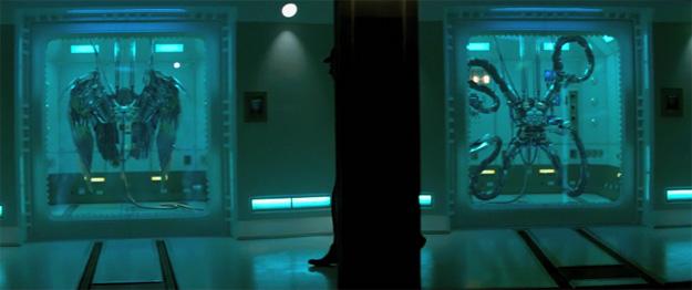 Buitre y Octopus... presencia con misterio