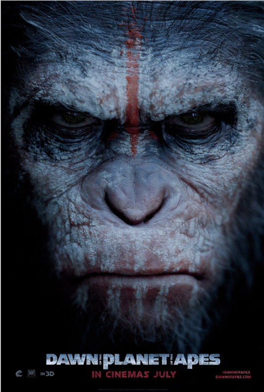 El nuevo póster de Dawn of the Planet of the Apes