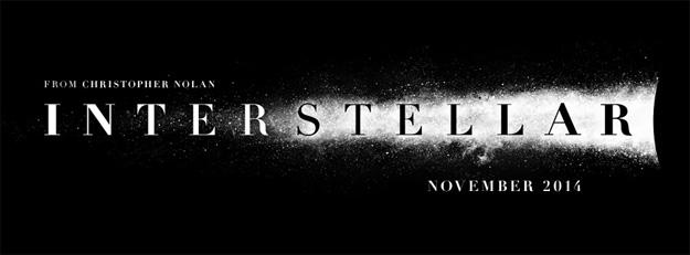 El primer cartel oficial de Interstellar