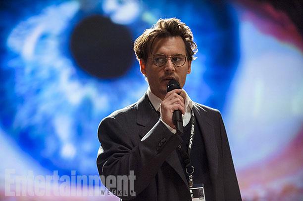 Johnny Depp momentos antes de irse al otro barrio
