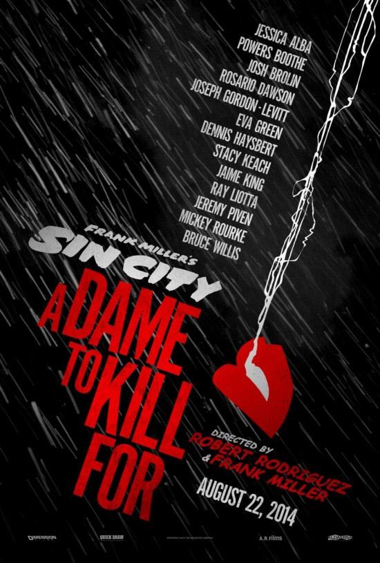 El cartel de Sin City: A Dame to Kill For