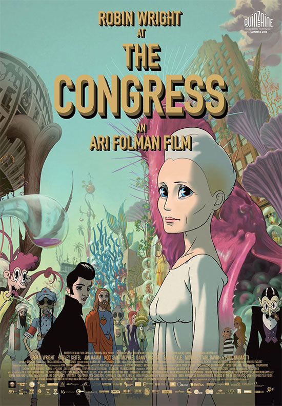 Cartel de The Congress de Ari Folman