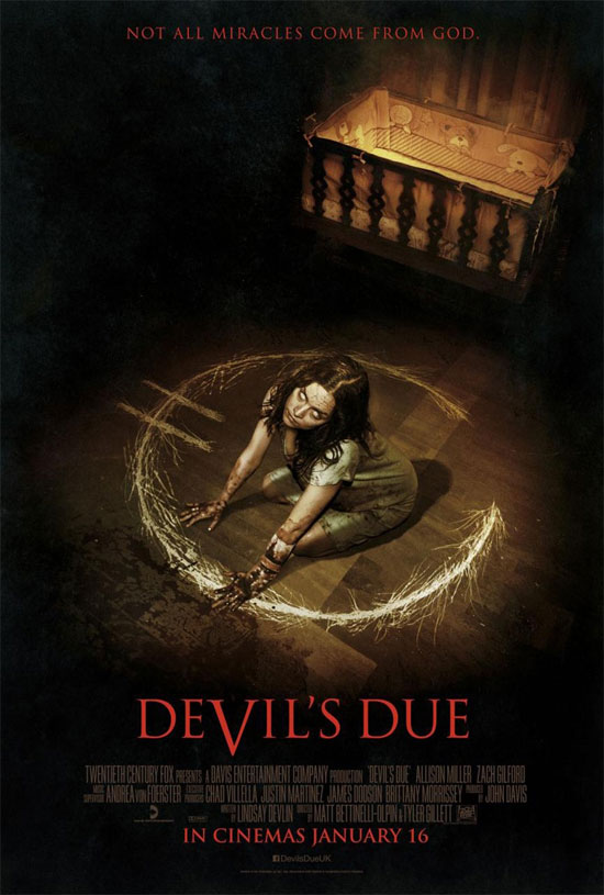 Un nuevo cartel de Devil's Due