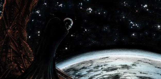 Brainiac observa la Tierra buscando a su igual
