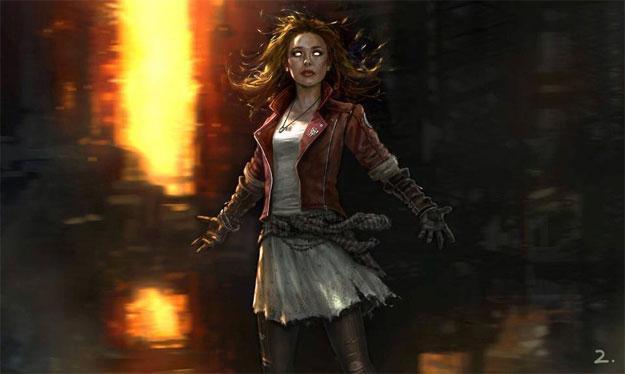 La pinta de Elizabeth Olsen como La Bruja Escarlata