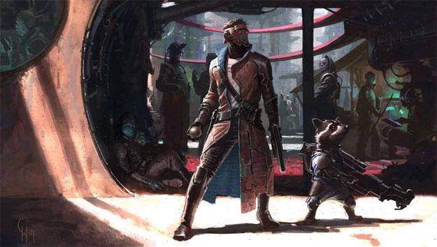 Otro vistazo al diseño de Guardianes de la Galaxia