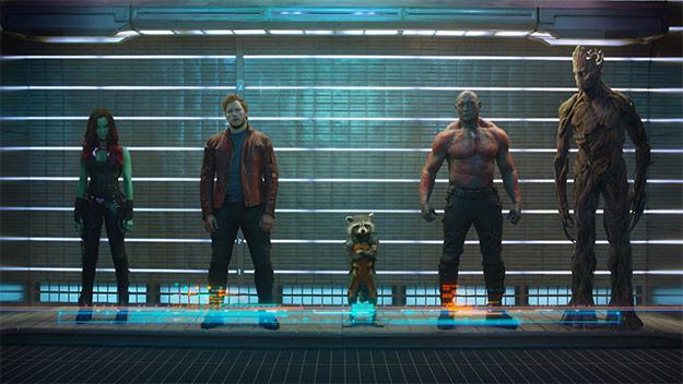 Estos son los Guardianes de la Galaxia