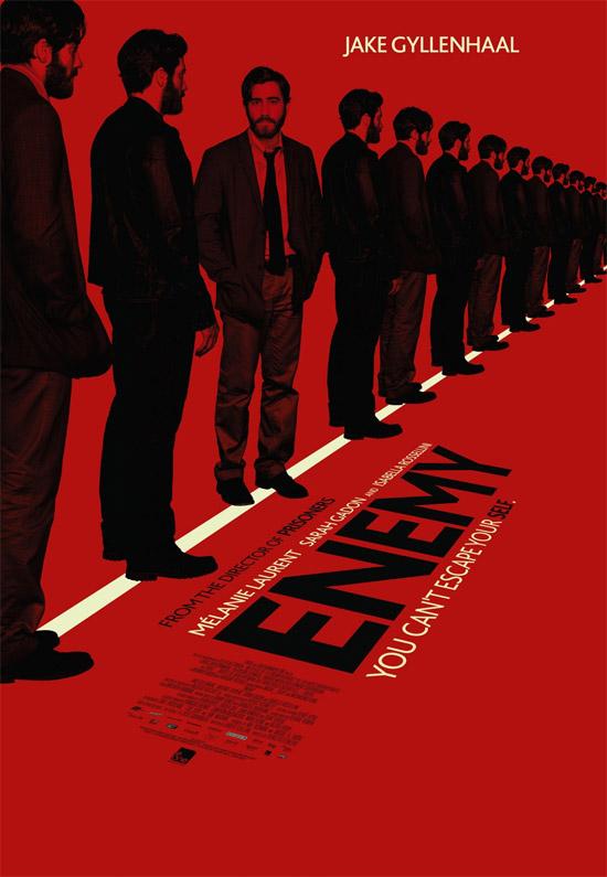 Un nuevo cartel de Enemy, vista en Sitges 2013 y recomendada