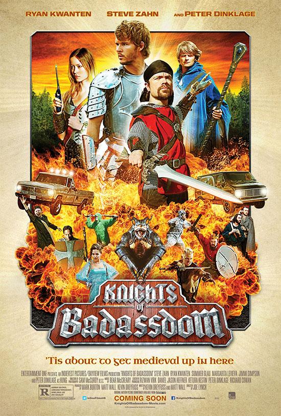 Un nuevo cartel de Knights of Badassdom... la película que debemos ver