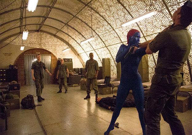Una nueva imagen de X-Men: Days of Future Past, Mística buscando a Kaos