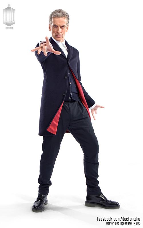 Así lucirá Peter Capaldi como Doctor Who