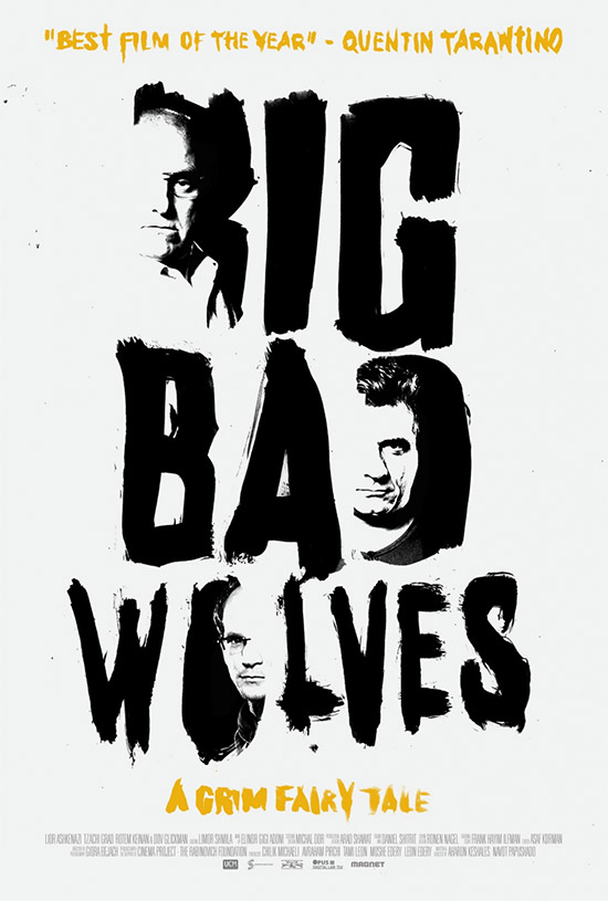 Y un nuevo cartel de Big Bad Wolves, lo mejor de lo mejor