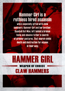 Hammer Girl (Julie Estelle)