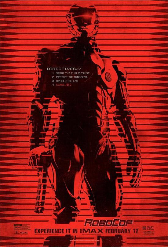 RoboCop rojo sangre, justo lo que no veremos por ser PG-13