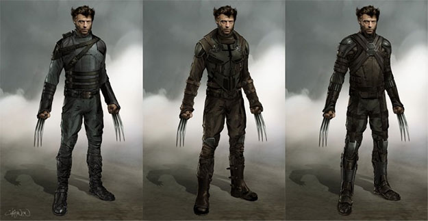 Varios detalles de concept art de X-Men: Días del Futuro Pasado
