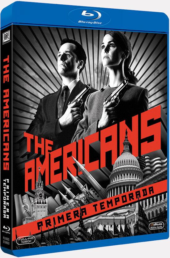 Portada de la edición en Blu-Ray de The Americans
