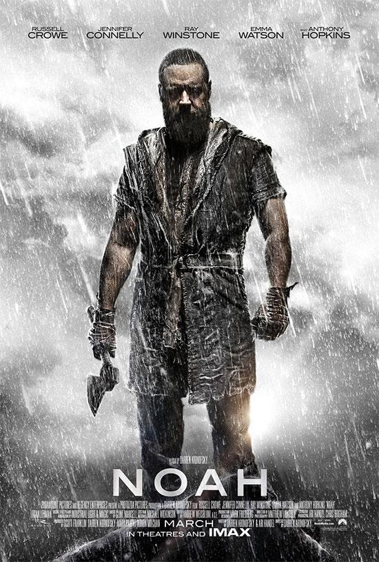 El nuevo cartel de Noé... hacha en mano