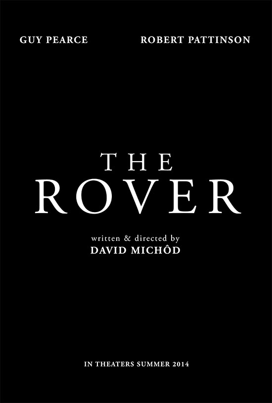 Teaser poster de The Rover