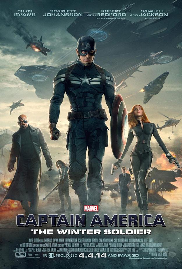 Nuevo cartel de Capitán América: el Soldado de Invierno