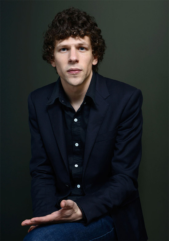 Jesse Eisenberg es Lex Luthor en Batman vs. Superman