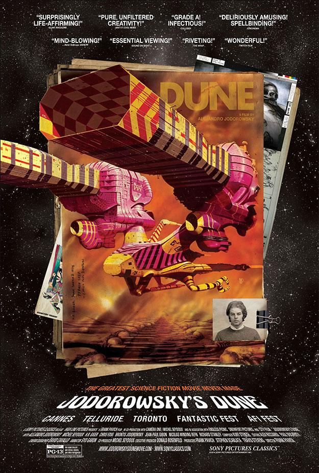 Otro cartel de la maravillosa Jodorowsky's Dune