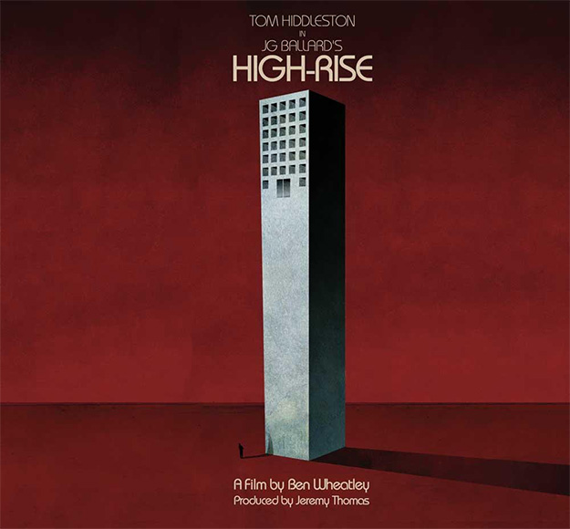 El curioso y molón cartel de High-Rise de Ben Wheatley